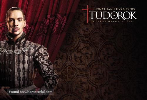 """The Tudors"" - Hungarian Movie Poster"