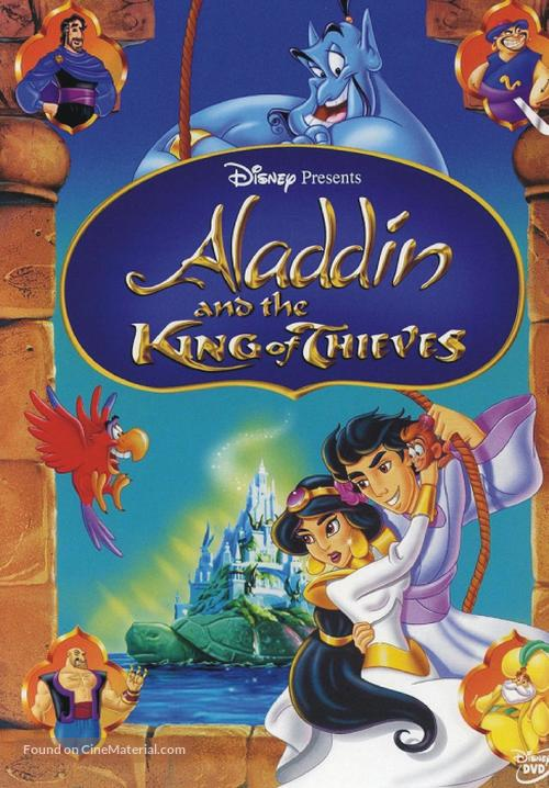 Aladdin And The King Of Thieves - DVD movie cover