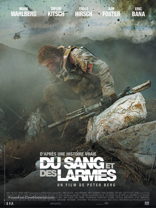 Lone Survivor - French Movie Poster