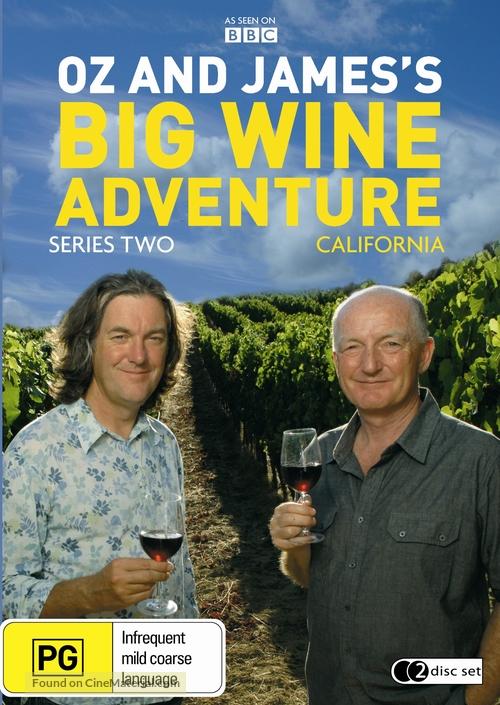 """Oz & James's Big Wine Adventure"" - Australian Movie Cover"