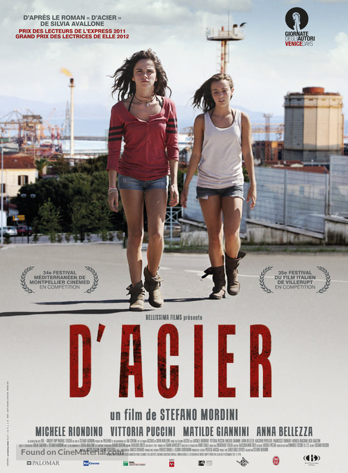Acciaio - French Movie Poster