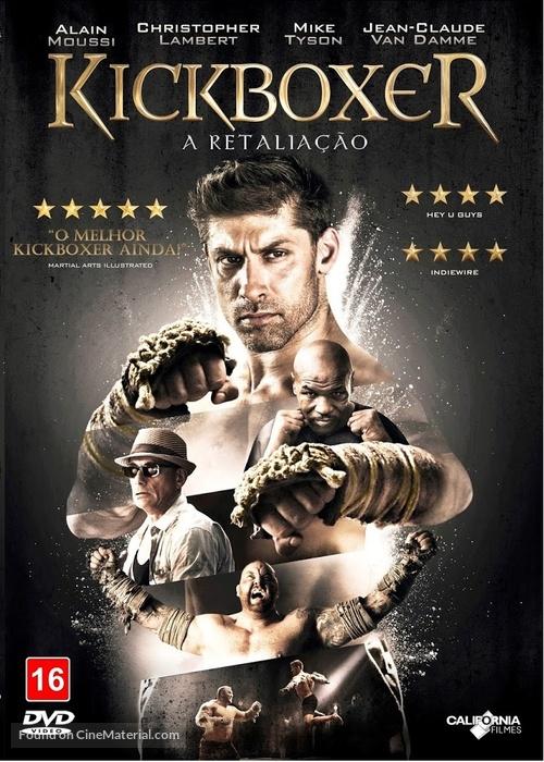 Kickboxer: Retaliation - Brazilian DVD movie cover