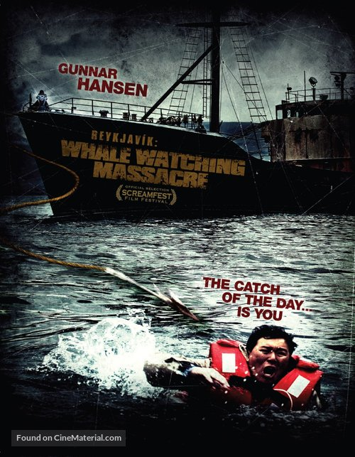 Reykjavik Whale Watching Massacre - Icelandic Movie Poster