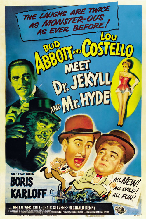 Abbott and Costello Meet Dr. Jekyll and Mr. Hyde - Movie Poster