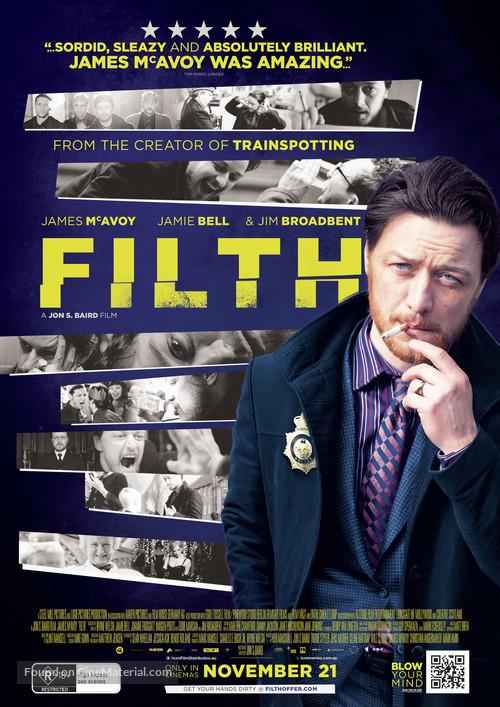 Filth - Australian Movie Poster