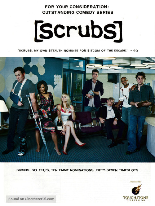 """Scrubs"" - Movie Poster"