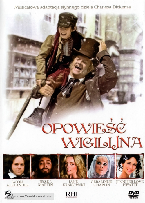A Christmas Carol - Polish DVD movie cover