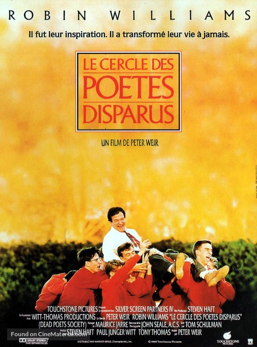Dead Poets Society - French Movie Poster
