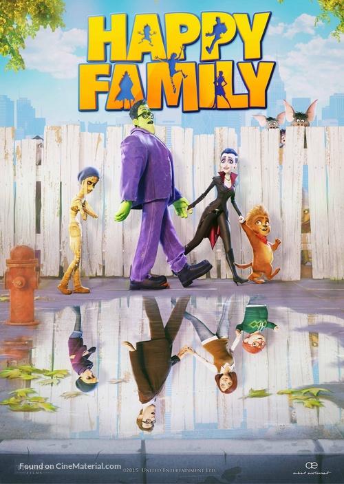 happy family movie poster