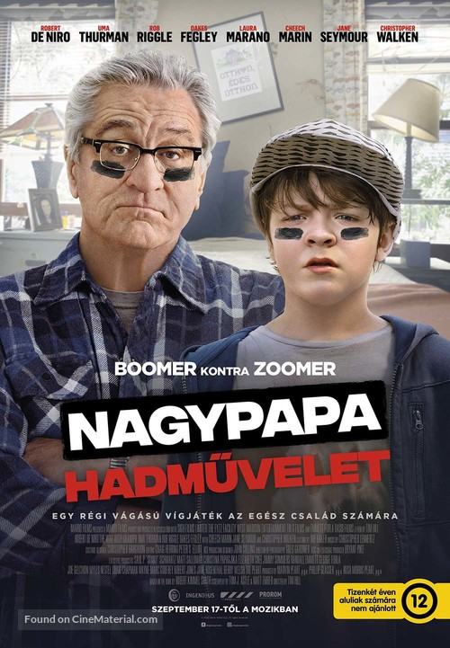 The War with Grandpa - Hungarian Movie Poster