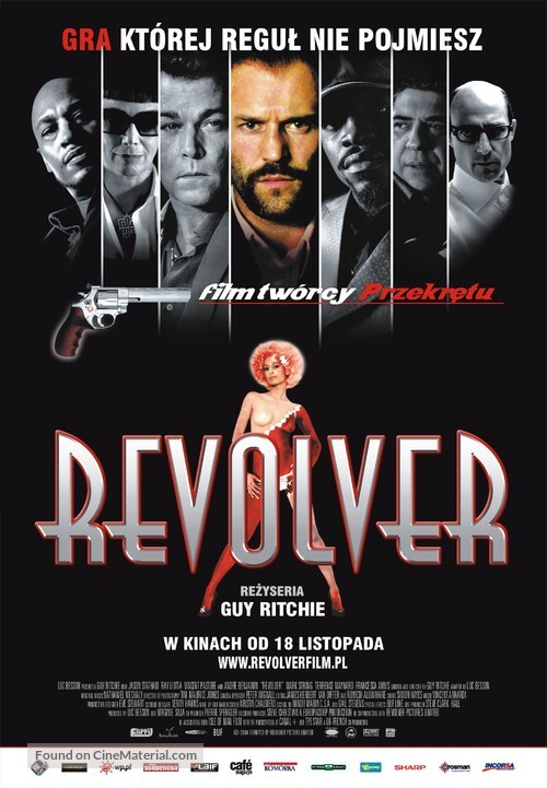 Revolver - Polish Movie Poster