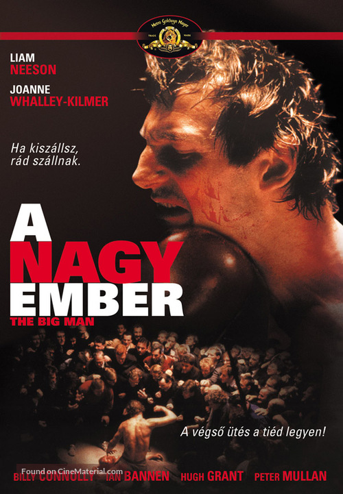 The Big Man - Hungarian DVD movie cover
