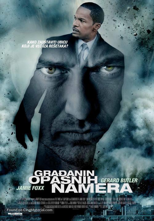 Law Abiding Citizen - Serbian Movie Poster