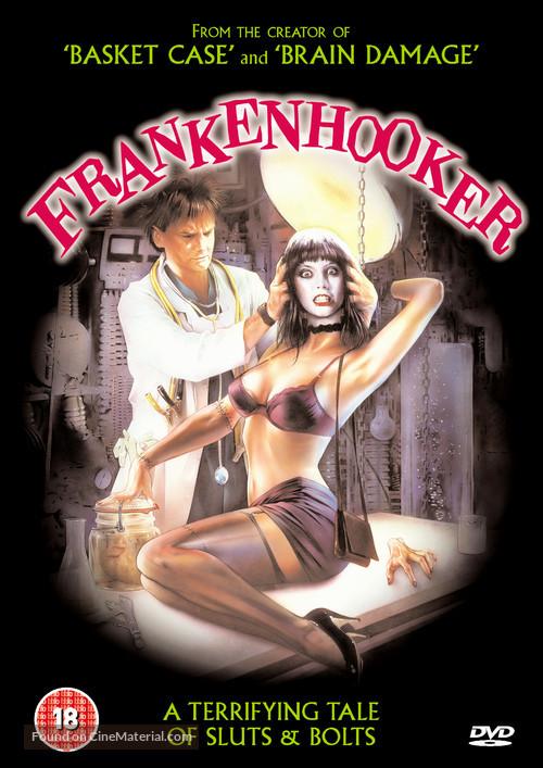 Frankenhooker - British DVD movie cover