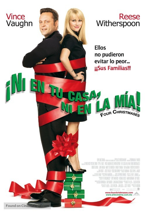Four Christmases - Mexican Movie Poster