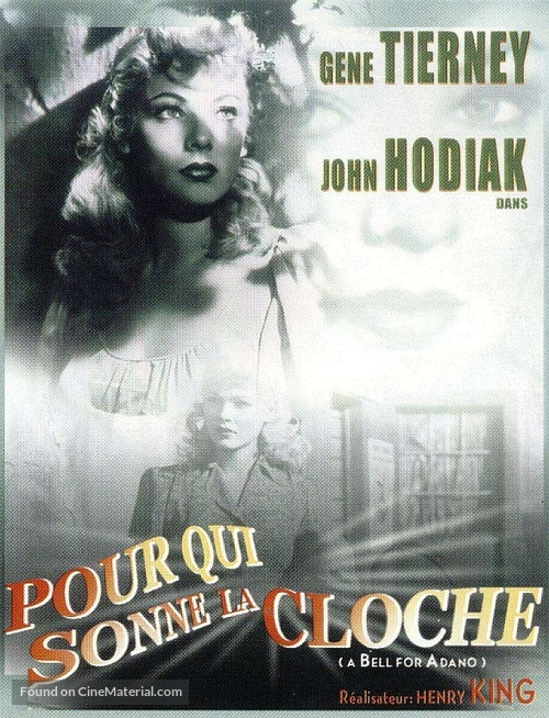 A Bell for Adano - French DVD movie cover