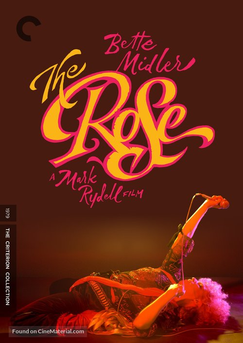 The Rose - DVD movie cover