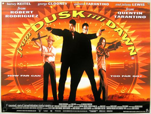 From Dusk Till Dawn - British Movie Poster