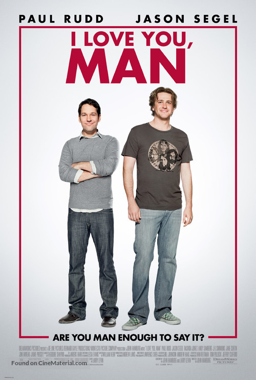 I Love You, Man - Movie Poster