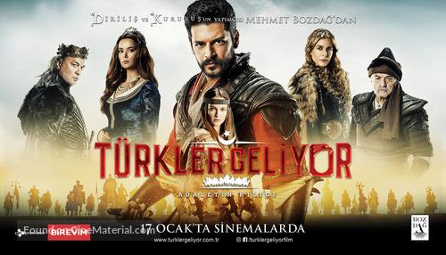 Türkler Geliyor: Adaletin Kilici - Turkish Movie Poster