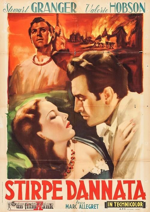 Blanche Fury - Italian Movie Poster