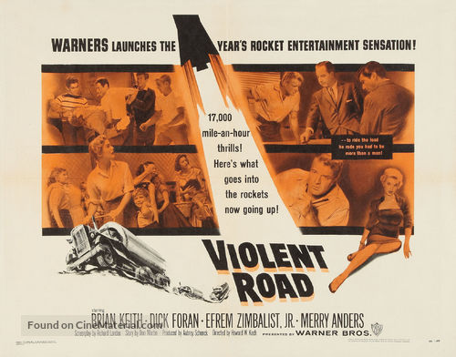 Violent Road - Movie Poster