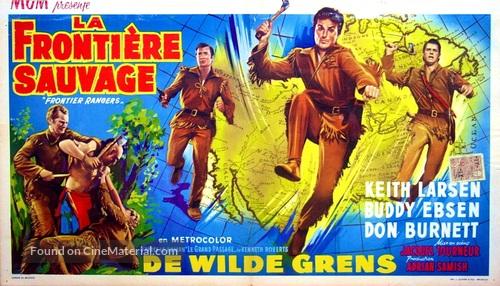 Frontier Rangers - Belgian Movie Poster