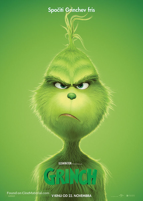 The Grinch - Slovenian Movie Poster