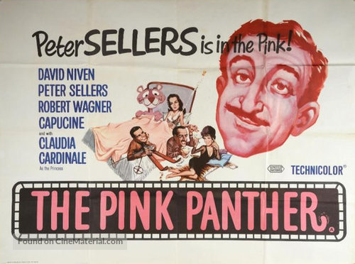 The Pink Panther - British Movie Poster