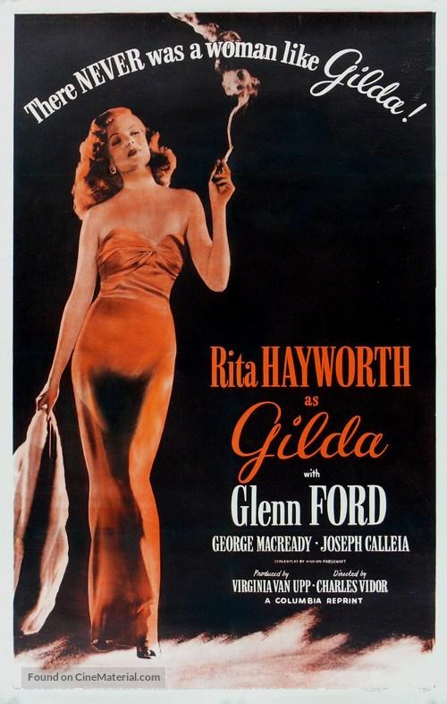Gilda - Re-release movie poster