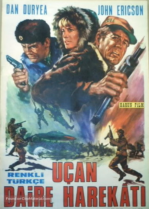 The Bamboo Saucer - Turkish Movie Poster