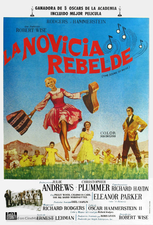 The Sound of Music - Argentinian Movie Poster