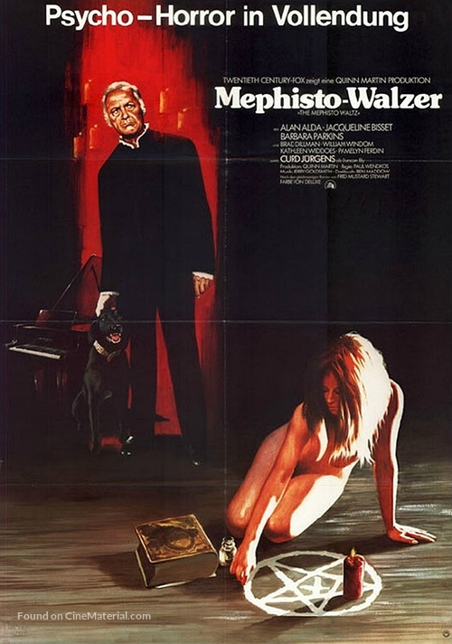 The Mephisto Waltz - German Movie Poster