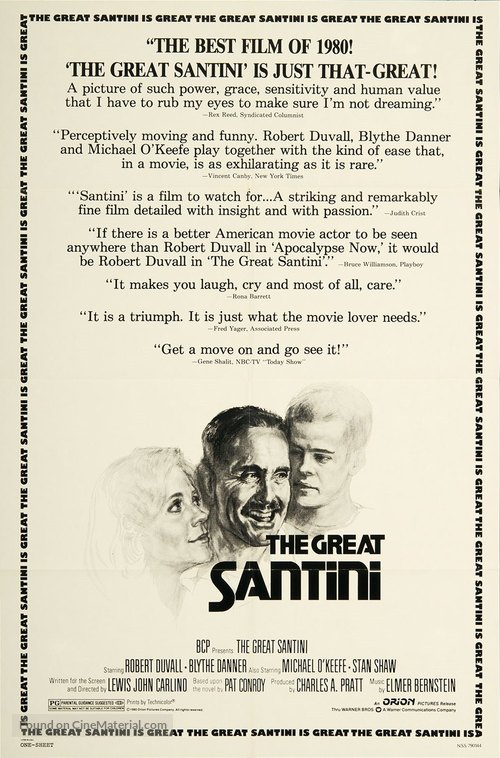 The Great Santini - Movie Poster