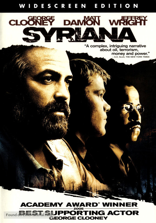 Syriana - DVD movie cover