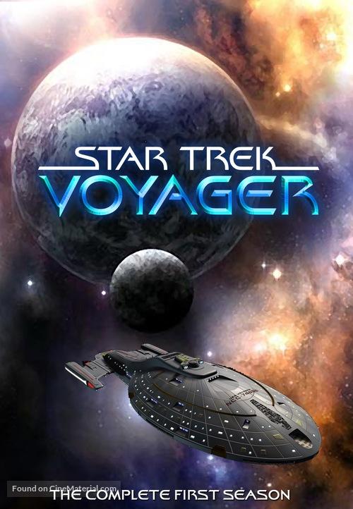 """Star Trek: Voyager"" - DVD movie cover"