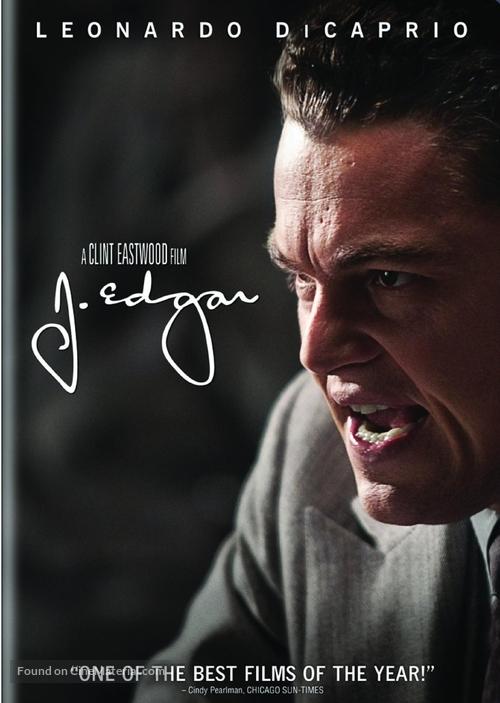 J. Edgar - DVD movie cover