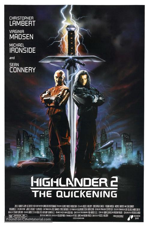 Highlander 2 - Movie Poster