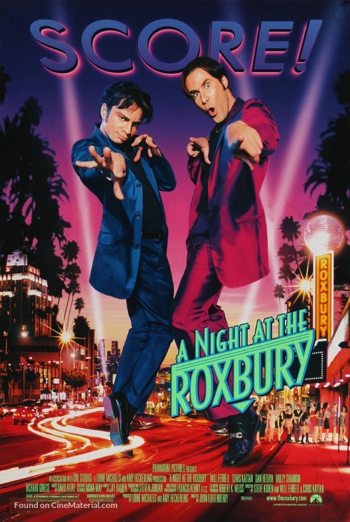 A Night at the Roxbury - Movie Poster