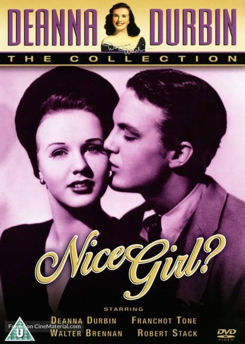 Nice Girl? - British DVD movie cover