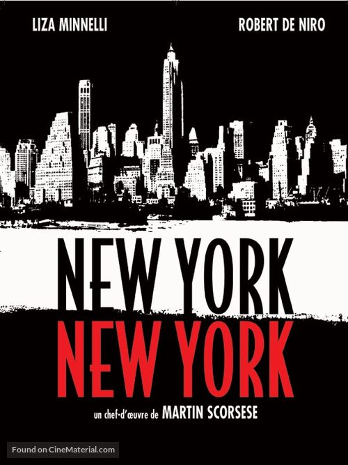 New York, New York - French Movie Cover
