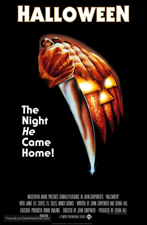 Halloween - Re-release poster