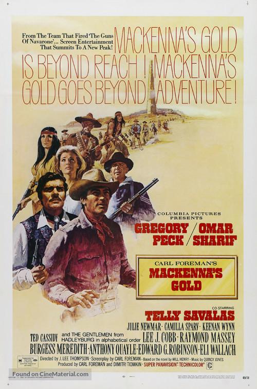 Mackenna's Gold - Movie Poster