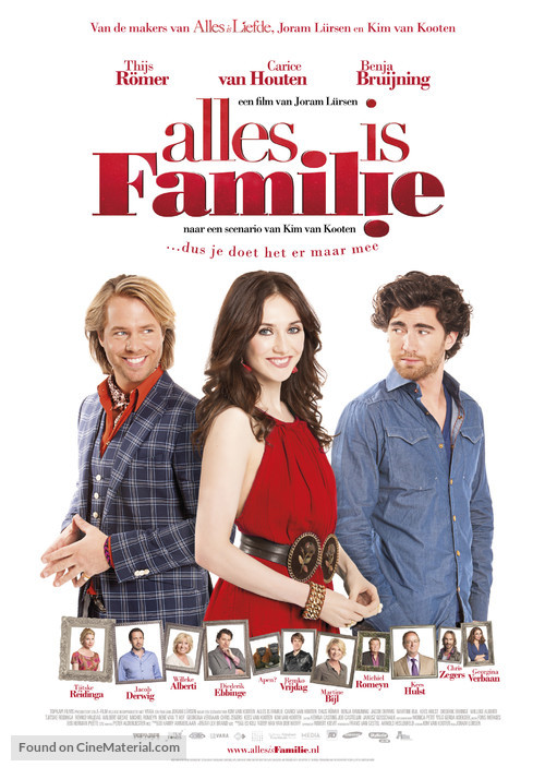 Alles is familie - Dutch Movie Poster