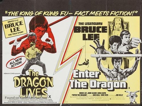 Li Hsiao Lung chuan chi - British Combo movie poster