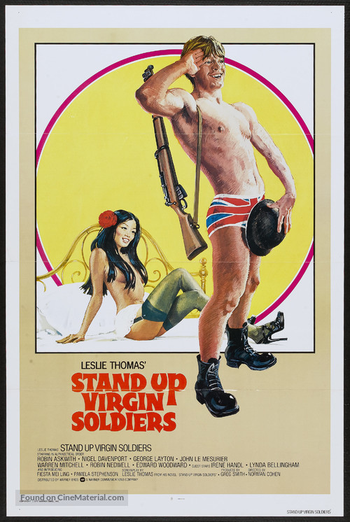 Stand Up, Virgin Soldiers - Movie Poster