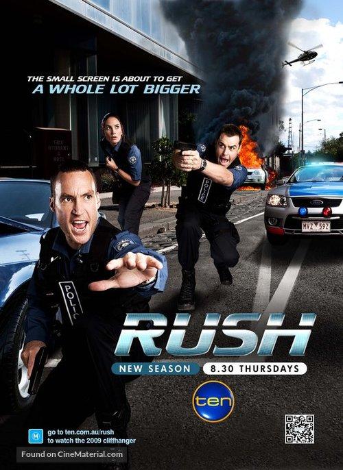"""""""Rush"""" - Australian Movie Poster"""