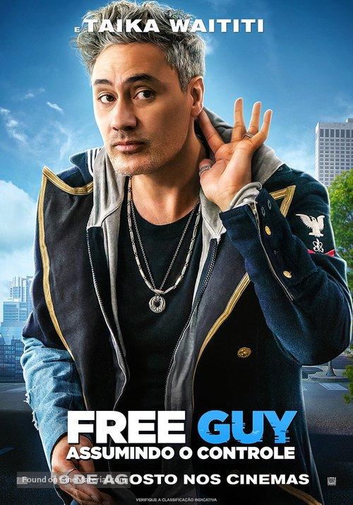 Free Guy - Brazilian Movie Poster