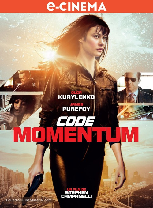 Momentum - French Movie Poster