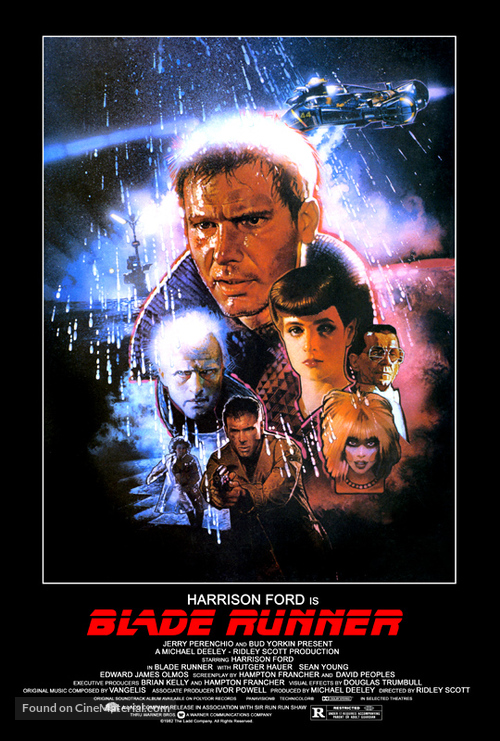 Blade Runner - Movie Poster